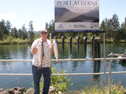 Tom of Port Alberni joined Doug of Slivers Charters Salmon Sport Fishing and hooked into some great Sockeye fishing in the Port Alberni Inlet.  Tom enjoys barbequing these tasty salmon plus sharing with family from California and Utah, USA.